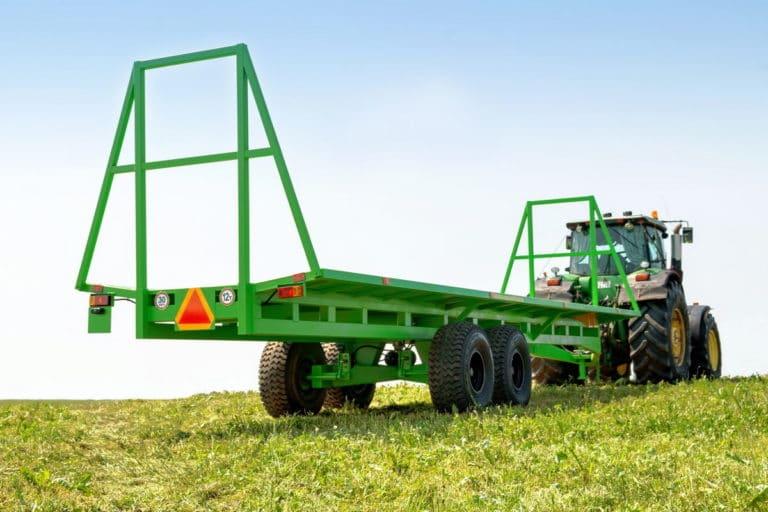 واگن برقی کشاورزی برای حمل رول TPR-10