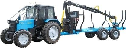 """وسیله نقلیه بارگیری و حمل و نقل جنگل """"BELARUS MPT-461"""""""