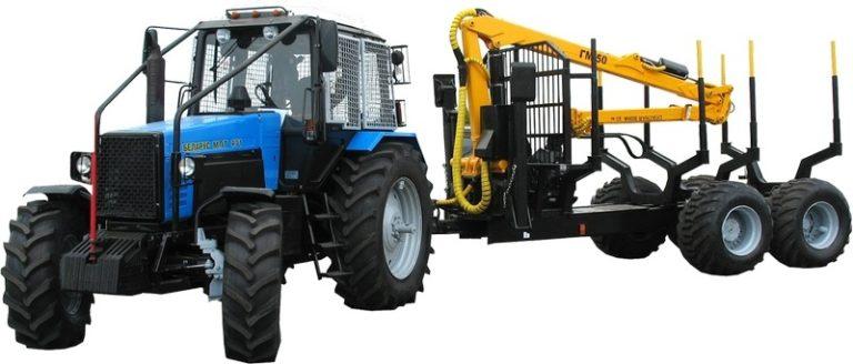 """وسیله نقلیه بارگیری و حمل و نقل جنگل """"BELARUS MPT-471"""""""
