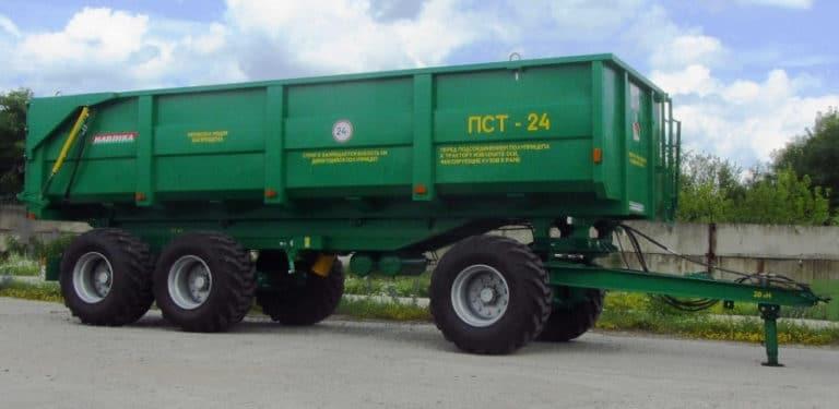 نیمه تریلر تراکتور PST-24