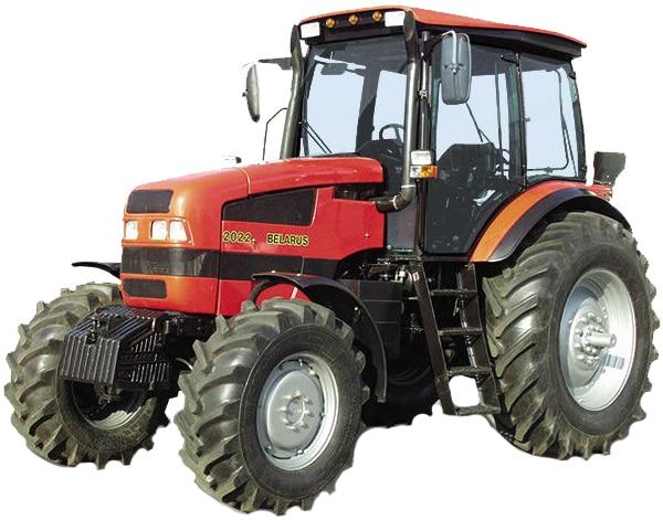 Tractor Belarus 2022.3-51 / 55-001 دستگاه بدون وزن جلو
